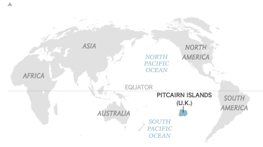 Pitcairn Islands (Courtesy of National Geographic)